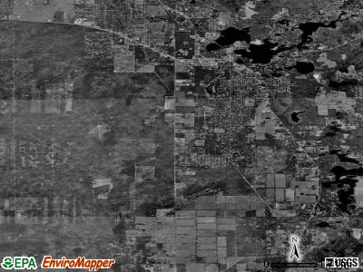 Zip code 34452 satellite photo by USGS