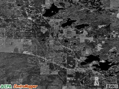 Zip code 34453 satellite photo by USGS