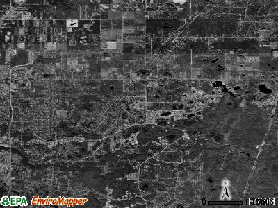 Zip code 34669 satellite photo by USGS