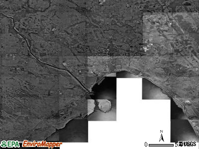 Zip code 34974 satellite photo by USGS