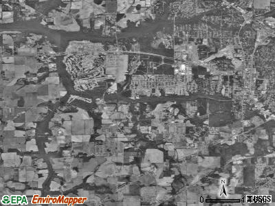 Zip code 36305 satellite photo by USGS