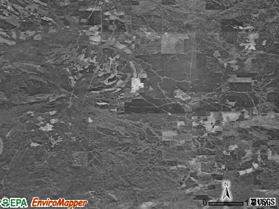 Zip code 36481 satellite photo by USGS
