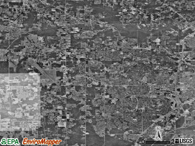 Zip code 36608 satellite photo by USGS