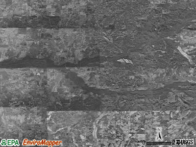 Zip code 38057 satellite photo by USGS
