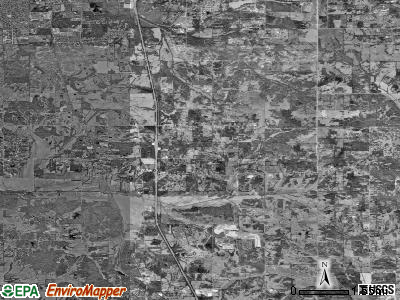Zip code 38651 satellite photo by USGS