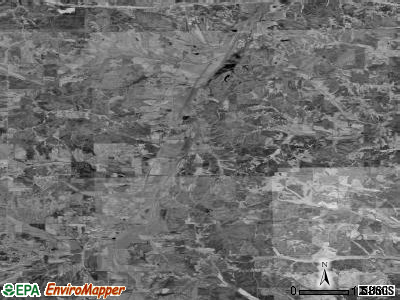 Zip code 38674 satellite photo by USGS
