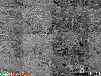 Zip code 38801 satellite photo by USGS