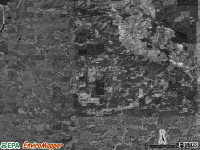 Zip code 38847 satellite photo by USGS
