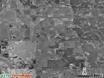 Zip code 38920 satellite photo by USGS