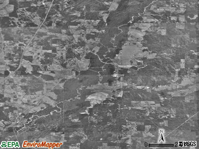 Zip code 39079 satellite photo by USGS