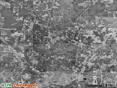 Zip code 39305 satellite photo by USGS