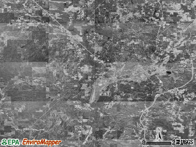 Zip code 39307 satellite photo by USGS