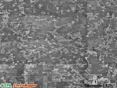 Zip code 39325 satellite photo by USGS