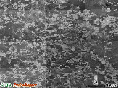 Zip code 39421 satellite photo by USGS