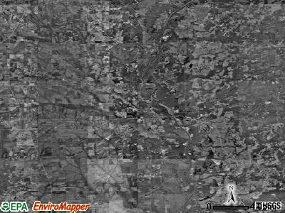 Zip code 39730 satellite photo by USGS