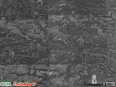 Zip code 43001 satellite photo by USGS
