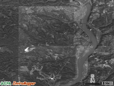 Zip code 43938 satellite photo by USGS