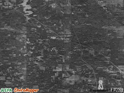 Zip code 44406 satellite photo by USGS