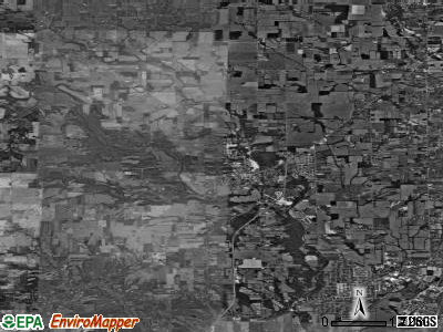 Zip code 45327 satellite photo by USGS
