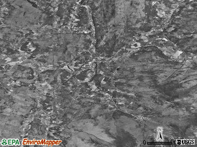 Zip code 05464 satellite photo by USGS
