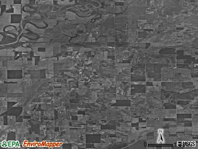 Zip code 47568 satellite photo by USGS