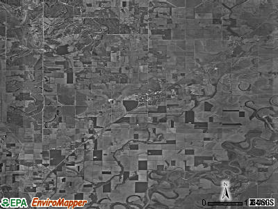 Zip code 47578 satellite photo by USGS