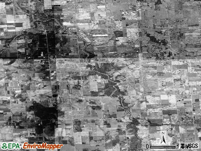 Zip code 48401 satellite photo by USGS