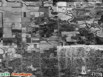 Zip code 48417 satellite photo by USGS