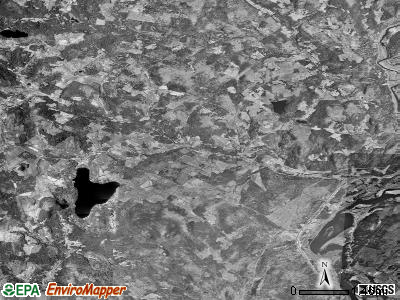 Zip code 05821 satellite photo by USGS