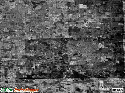 Zip code 48439 satellite photo by USGS