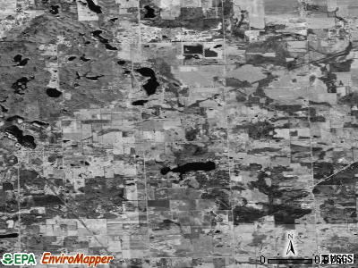 Zip code 48464 satellite photo by USGS
