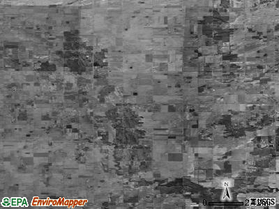 Zip code 48637 satellite photo by USGS