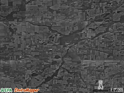 Zip code 49040 satellite photo by USGS