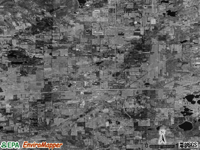 Zip code 49071 satellite photo by USGS
