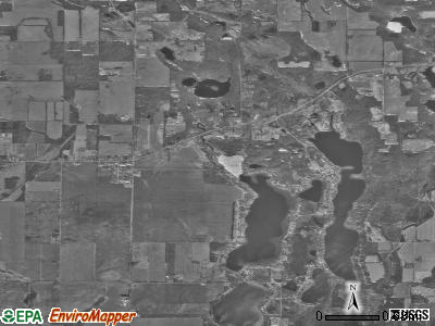 Zip code 49130 satellite photo by USGS