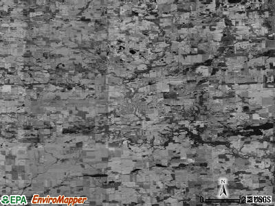 Zip code 49247 satellite photo by USGS