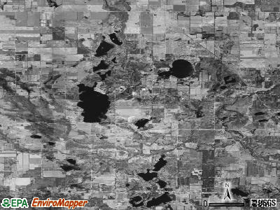 Zip code 49326 satellite photo by USGS