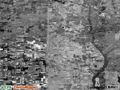 Zip code 49330 satellite photo by USGS
