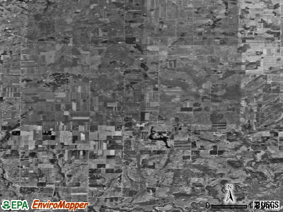 Zip code 49620 satellite photo by USGS
