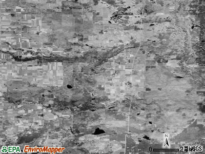 Zip code 49632 satellite photo by USGS
