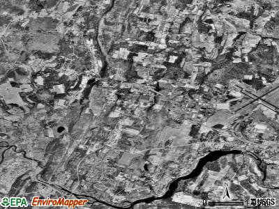 Zip code 06026 satellite photo by USGS