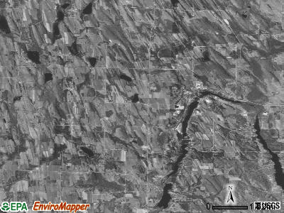 Zip code 49729 satellite photo by USGS
