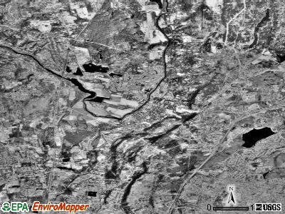 Zip code 06032 satellite photo by USGS