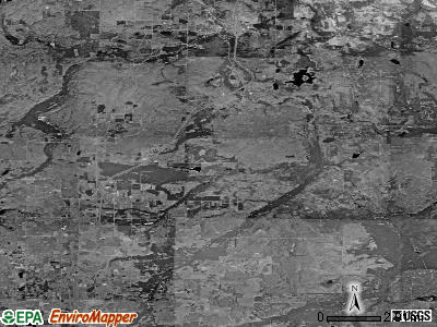 Zip code 49795 satellite photo by USGS