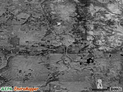 Zip code 49799 satellite photo by USGS
