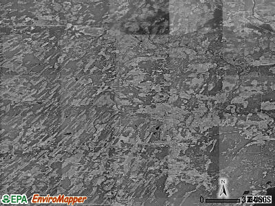 Zip code 49807 satellite photo by USGS