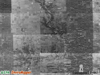 Zip code 50003 satellite photo by USGS