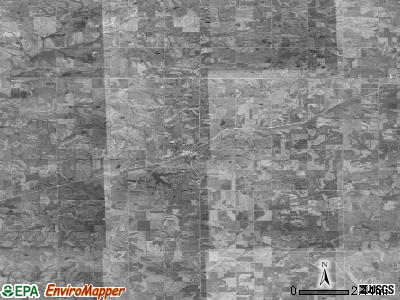 Zip code 50020 satellite photo by USGS