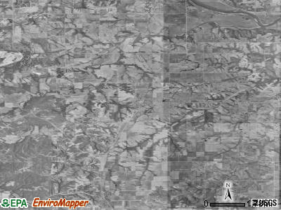 Zip code 50044 satellite photo by USGS