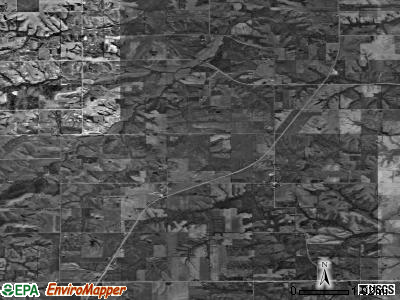 Zip code 50057 satellite photo by USGS